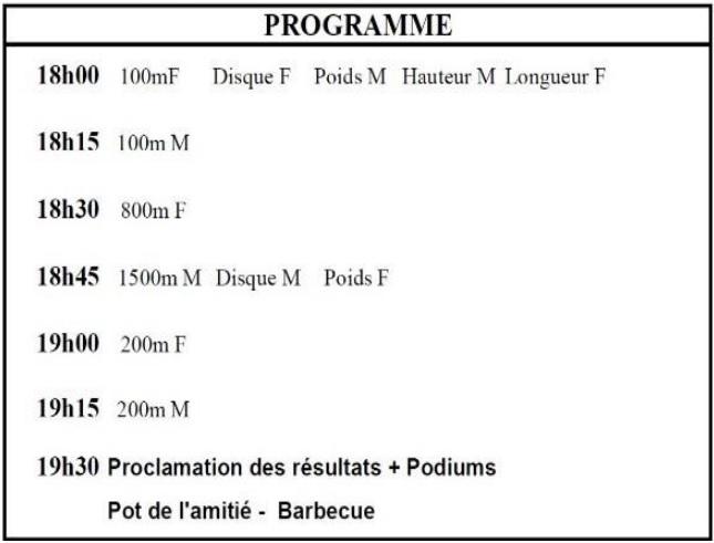 Programme graveline